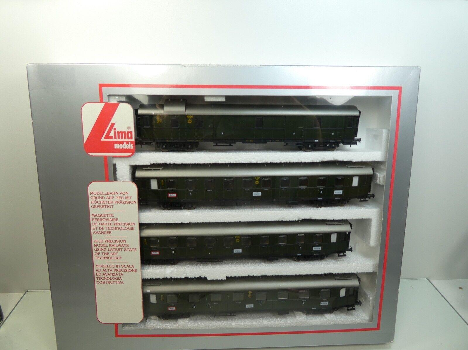 Lima 149762 K - H0 - DB - 4tlg. Personenwagen-Set - TOP in OVP -  61310