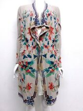 NWT BIYA by Johnny Was Myre Long Embroidered Wrap Jacket -L /  XL - JW343817