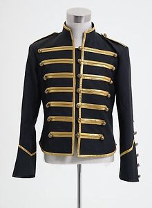 My-Chemical-Romance-Military-Parade-Poison-Coat-Jacket-Costume-Gold-S-3XL