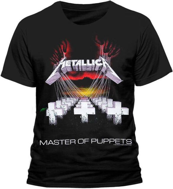 Metallica Master Of Puppets T Shirt Official S M L XL XXL