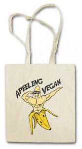 APEELING VEGAN STOFFTASCHE Banane Banana Vegan Veganer Vegetarier vegetarisch