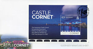 Topical Stamps Guernsey 2017 Fdc Castle Cornet Europa Castles 1v M/s Cover Architecture Stamps Sale Overall Discount 50-70% Architecture