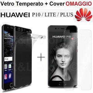 COVER-CUSTODIA-in-TPU-PELLICOLA-VETRO-TEMPERATO-per-Huawei-P10-Lite-Plus
