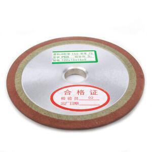 """Diamond Grinding Wheel 4/"""" 5/"""" Grinder Disc for Carbide Cutter Sharpener 150 Grit"""