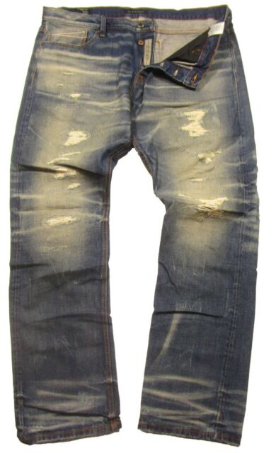 NWT Cult of Individuality Men/'s Mccoy Loose Fit Jean in Caviar Size 30