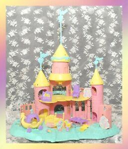 ❤️My Little Pony G1 Vtg PETITE Royal Pony Palace Castle Playset 2 Ponies LIGHT❤️