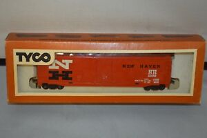 TYCO-HO-SCALE-VINTAGE-50-039-BOXCAR-NEW-HAVEN-NOS
