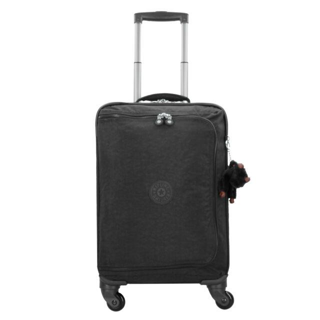 bc116f3704 Kipling Basic Cyrah S 4 wheels cabin size luggage trolley 55 cm (true black)