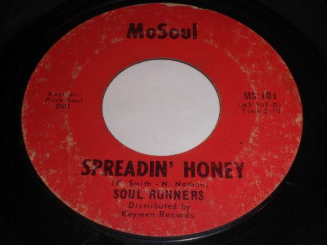 Soul Runners: Spreadin' Honey / Grits 'N Corn Bread 45 - Soul Funk