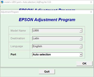 Reset Epson STYLUS OFFICE B1100 100/%