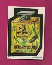 RARE OPC 1989 WACKY PACKAGES MY SINK  NRMT CARD (INV#6426)