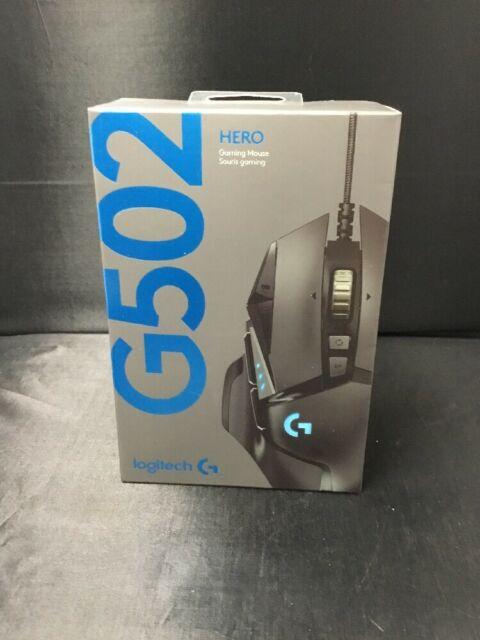 Authentic Logitech G502 Hero Gaming Mouse 910-005469 NEW