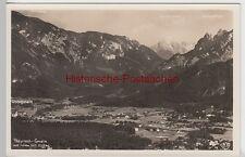 (98157) Foto AK Bayrisch-Gmain u. Großgmain, Gesamtansicht vor 1945