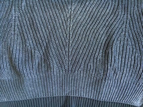 New Stitch Cotton m Oversize Uk Joseph Jumper Top Rare 8 kr 188 12 Rrp Silver Pearl Zwr6qxCZ