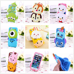 For-Samsung-Galaxy-Kids-3D-Cute-Cartoon-Animal-Soft-Silicone-Gel-Back-Case-Cover