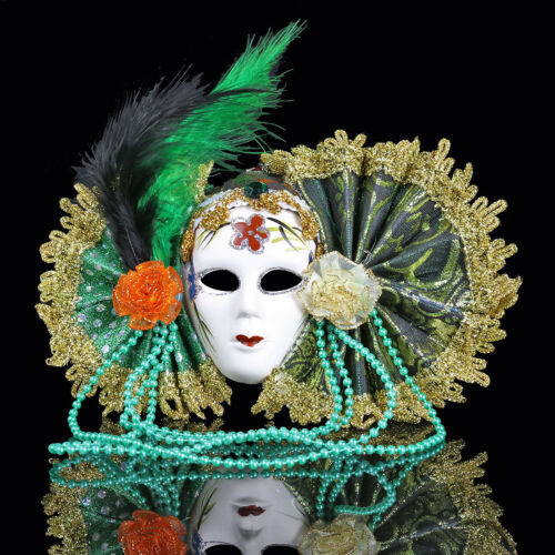 Wall Hanging Masque Ornement Style Vénitien Pendentif Masquerade Accessoire Party Decor