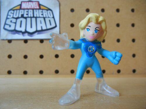 Marvel Super Hero Squad inédits variante Femme Invisible Sue Storm-Herbie PK