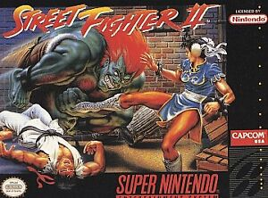 Street Fighter Ii Snes 1992 For Sale Online Ebay