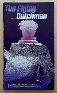 The Flying Dutchman programme ENO English National Opera 1982 Norman Bailey