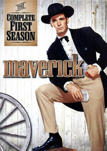 Maverick-The-Complete-First-Season-Season-1-7-Disc-DVD-NEW