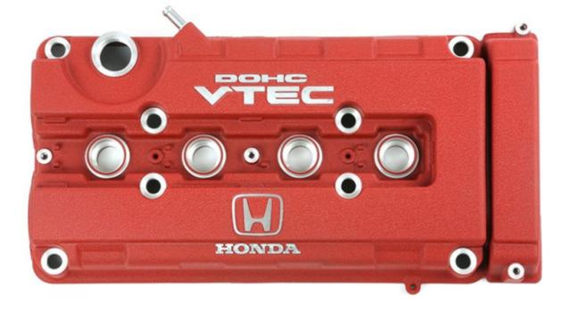 HONDA OEM Genuine Type R RED Valve Cover CIVIC EK9 INTEGRA DC2 for B-series NIB