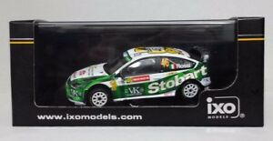 Ixo 1/43 Valentino Rossi Auto Ford Focus Wrc    Limitée Neuf  wales Gb Rally 2008