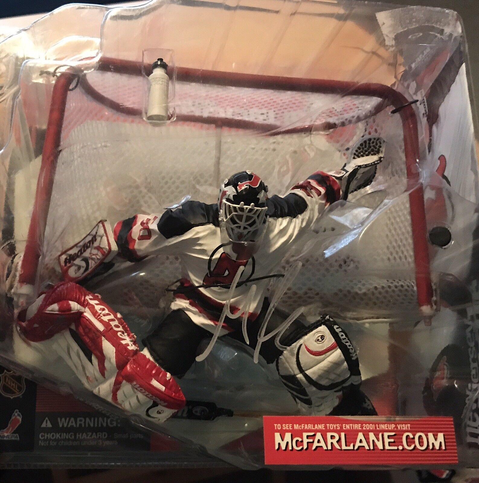Martin Brodeur signed McFarlane  NHL  Figure Autograph New Jersey Devils