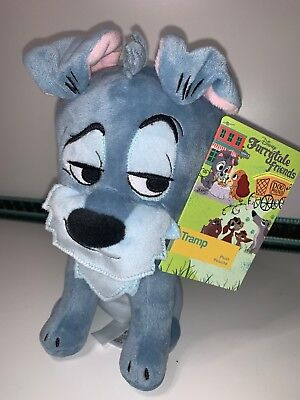 BNWT Disney Store Lady and the Tramp Furrytale Friend Tramp Plush Small Toy 9/""