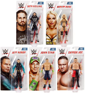 WWE Figures - Basic Series 92 - Mattel - Brand New - Sealed
