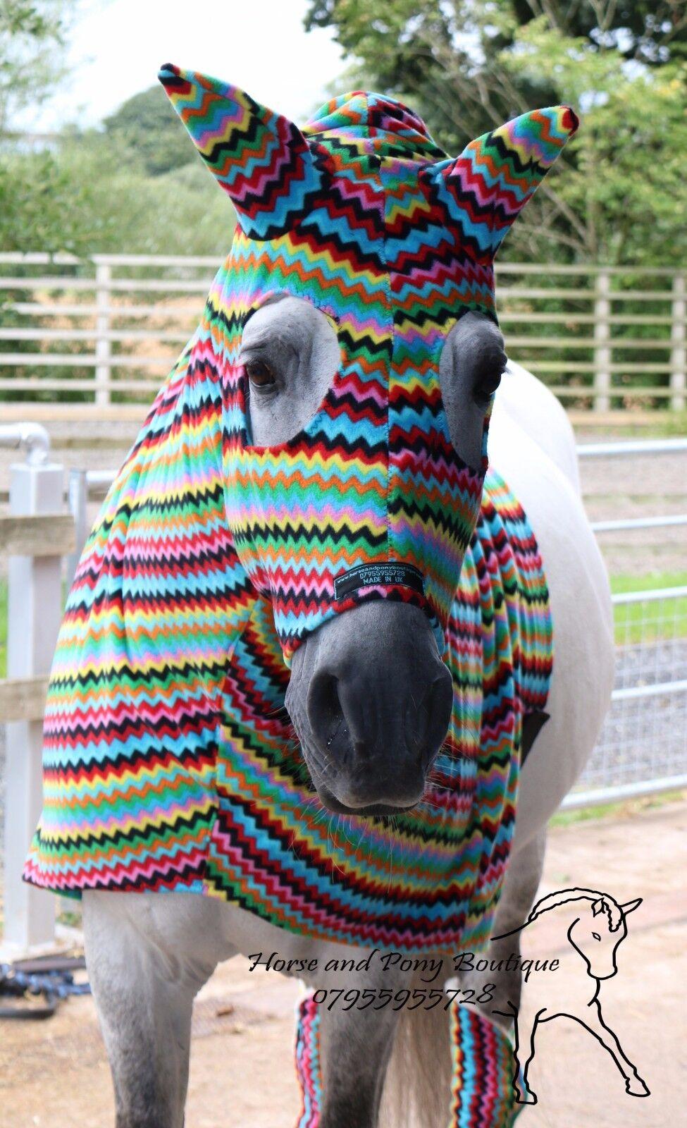 Zig ZAG FLEECE HORSE HOOD, HORSE PJAMAS PJAMAS PJAMAS 473f45