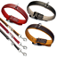 Karlie-Hundehalsband-Hundeleine-Vintage-Nappaleder-sehr-hochwertig-und-weich