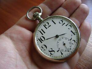 Vintage-Pocket-Watch-Maltese-cross