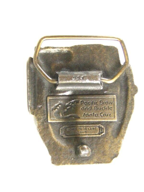 1978 Van Ness Ness Ness Ave. Ca Markt st Karren Auto Gürtelschnalle von Indiana Metall | Neuheit Spielzeug  | Verschiedene Arten Und Die Styles  ebe46e