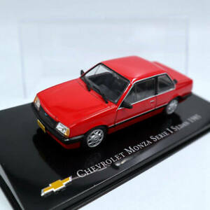 1-43-IXO-Chevrolet-Monza-Serie-I-Sedan-1985-Diecast-Models-Toys-Car-Collection