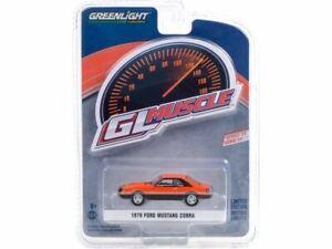 FORD Mustang Cobra - 1979 - orange / black - Greenlight 1:64