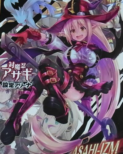 ASAHI-IZM Taimanin Asagi Arena Character Setting Art Book
