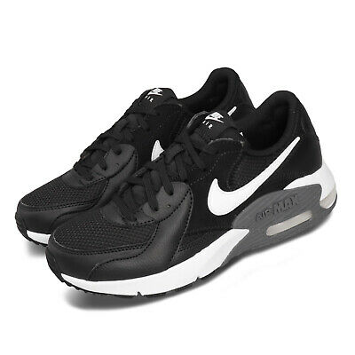 nike wmns air max excee black white grey women casual
