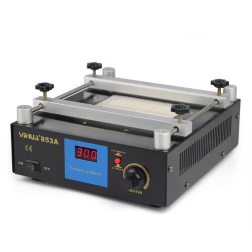 BGA Infrared Rework Electronic Hot Plate Preheat Preheating Station 110V New