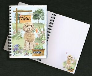 Cockapoo-Dog-Notebook-Notepad-small-image-on-every-page-by-Starprint