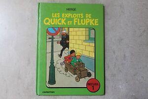 BD-HERGE-Quick-amp-Flupke-Casterman-1975-Recueil-1-TBE-voir-photos