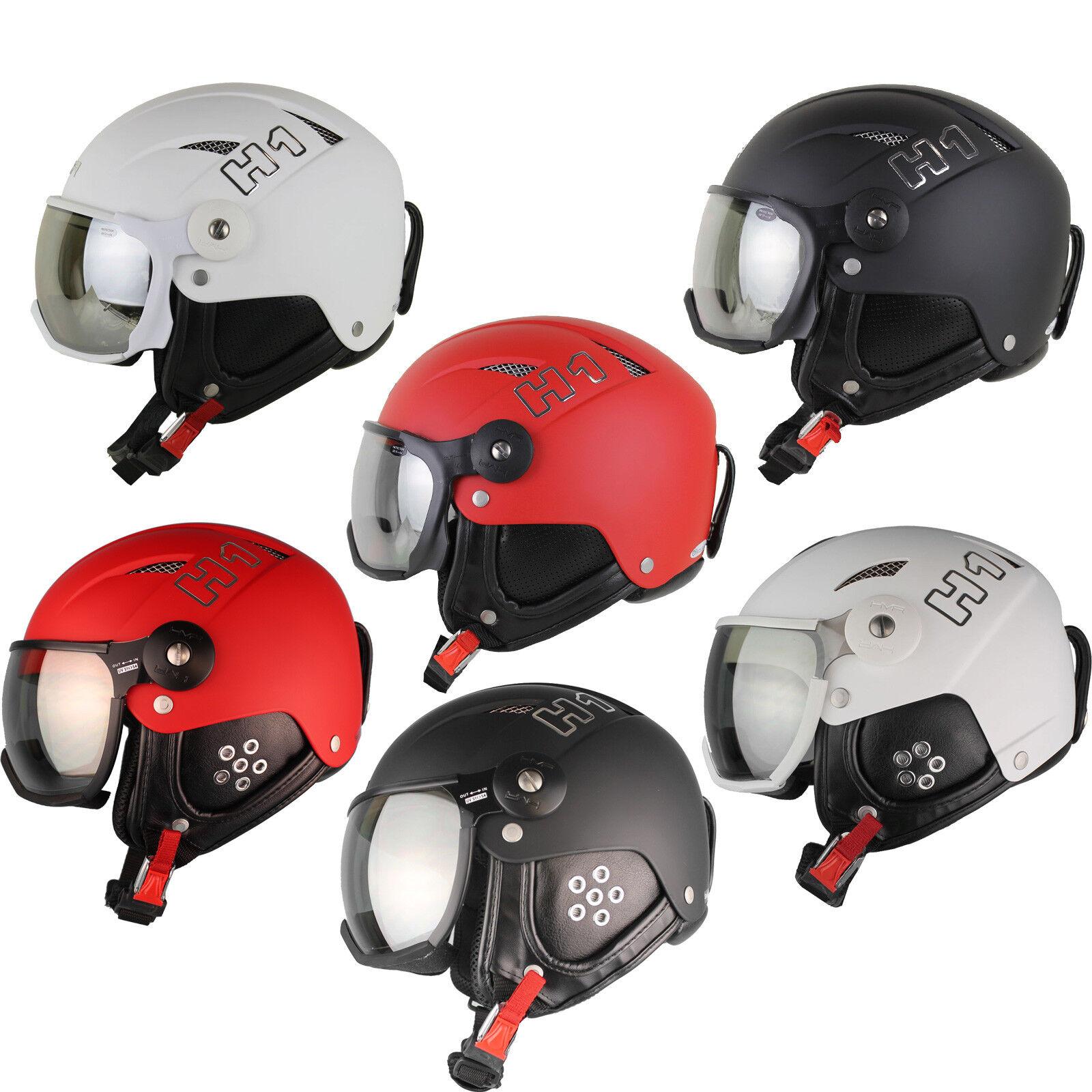 HMR H1 Skihelm Snowboardhelm mit Visier Ski Snowboard Wintersport Helm