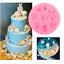 1PC-3D-Sea-Shell-Shaped-Silicone-Mold-Chocolate-Fondant-Cake-Decor-Baking-Tools thumbnail 1