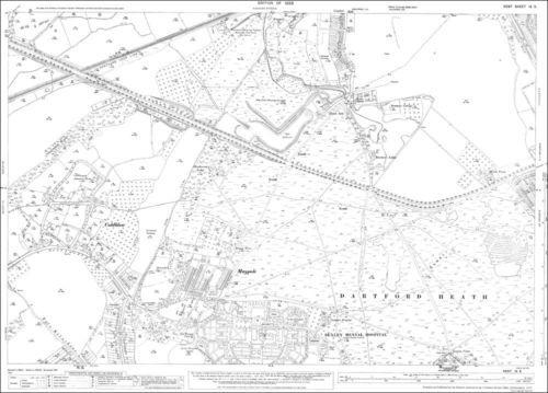Coldblow OS 9-5-1933 E S Maypole Crayford Bexley