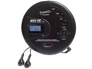 Supersonic-SC-253-40-Sec-Anti-Shock-Personal-MP3-CD-FM-Radio-Player-Headphones