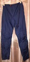 Tripp Nyc Daang Goodman Slick Blue Marine Goth Pant Funky 9 Quilt $77