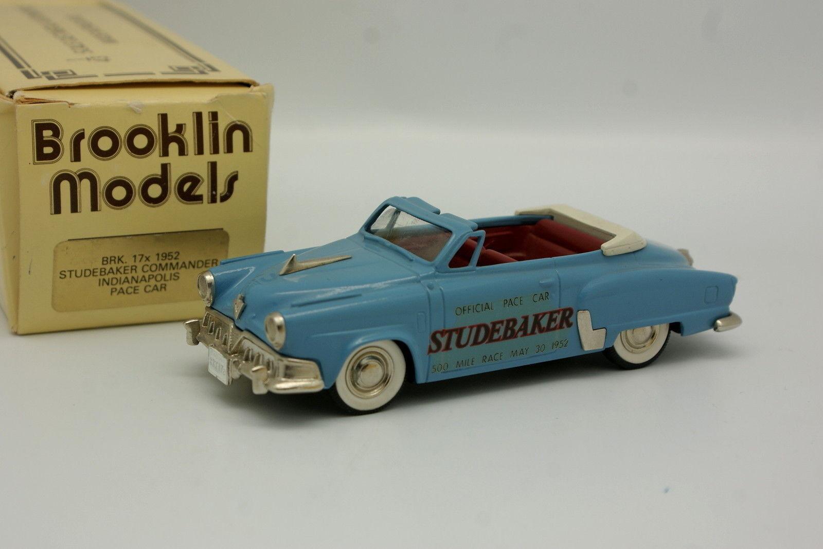 Brooklin  1 43 - Studebaker Comhommeder Indianapolis Pace voiture  profitez d'une réduction de 30 à 50%