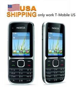 Details about Nokia C2-01 RM-721 Black 3 2MP (T-mobile) Unlocked Mobile  Phone-Warranty