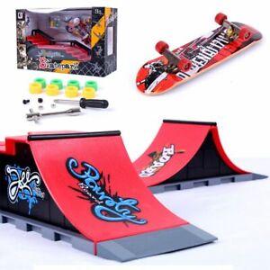 Skate-Park-Ramp-Part-Tech-Deck-Fingerboard-Finger-Board-Ultimate-Accessories-Set