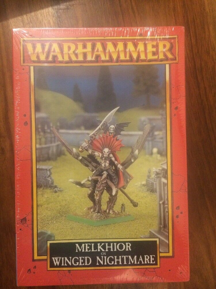 Undead Vampire Counts Melkhior on Winged Nightmare New sealed sealed sealed Box  WARHAMMER OOP 08317b