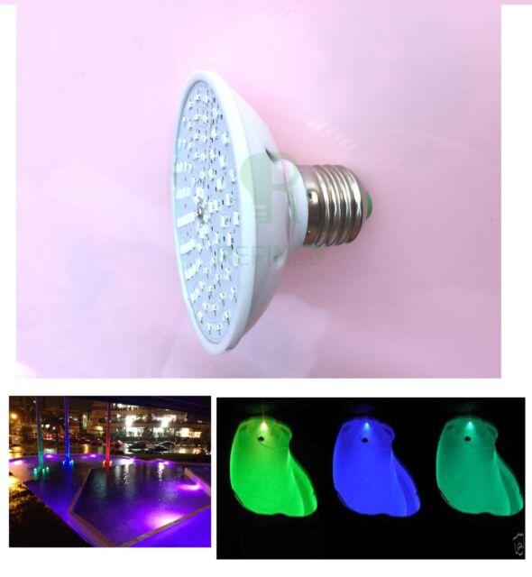 E27 PAR25 led SPA lights bulb 8W AC12V RGB for Hayward Pentair lamp